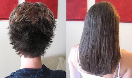 kısa saça kaynak işlemi